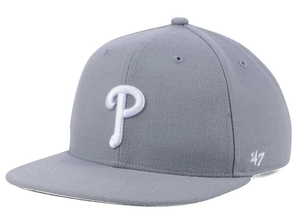 check out fb0c0 8a99f italy philadelphia phillies 47 mlb youth 47 basic shot snapback cap a6d20  52cce