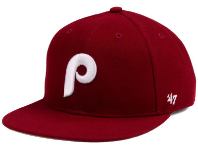 Philadelphia Phillies '47 MLB Youth '47 Basic Shot Snapback Cap