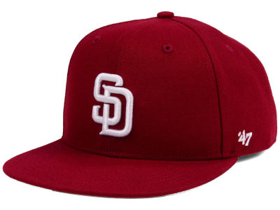 San Diego Padres '47 MLB Youth '47 Basic Shot Snapback Cap