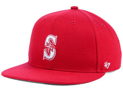 Seattle Mariners '47 MLB Youth '47 Basic Shot Snapback Cap