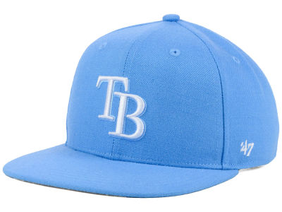 Tampa Bay Rays '47 MLB Youth '47 Basic Shot Snapback Cap