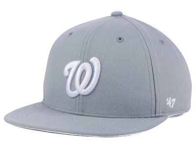 Washington Nationals '47 MLB Youth '47 Basic Shot Snapback Cap