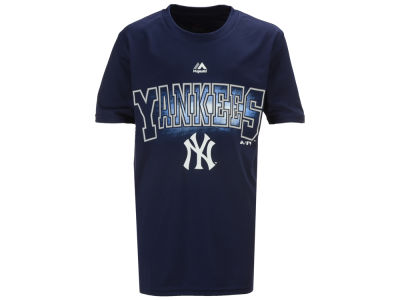 New York Yankees MLB Youth Light Up the Field Poly T-Shirt