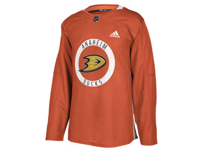 Anaheim Ducks adidas NHL Men's Authentic Pro Practice Jersey