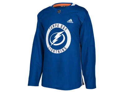 Tampa Bay Lightning adidas NHL Men's Authentic Pro Practice Jersey
