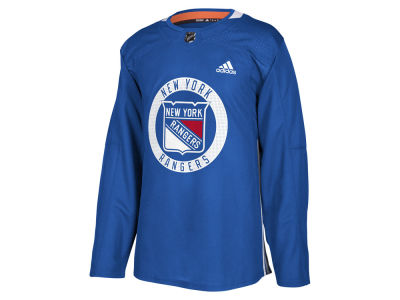 New York Rangers adidas NHL Men's Authentic Pro Practice Jersey