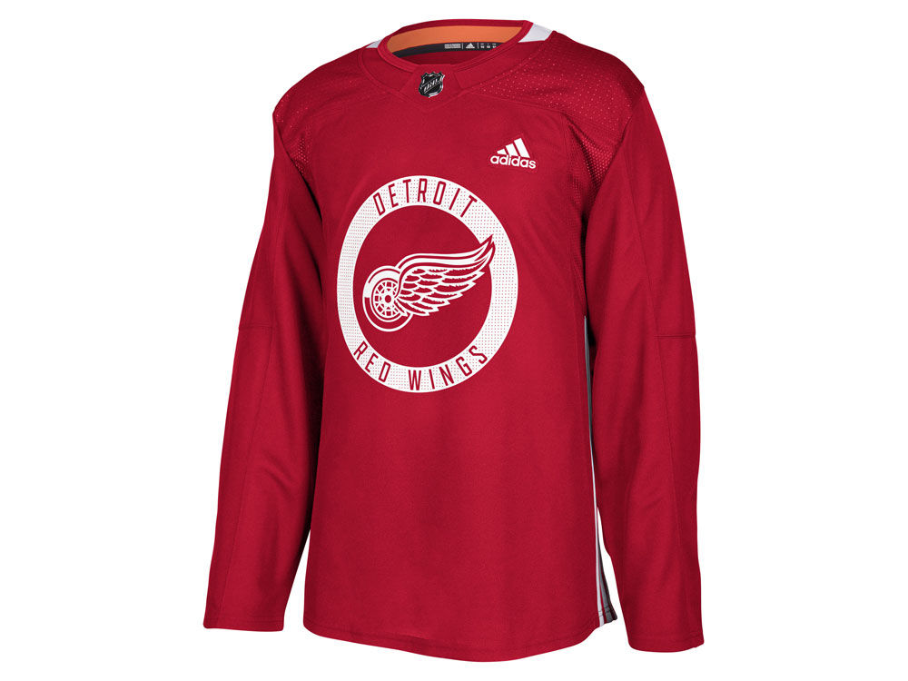 2613a0176 Detroit Red Wings adidas NHL Men s adizero Authentic Practice Pro Jersey