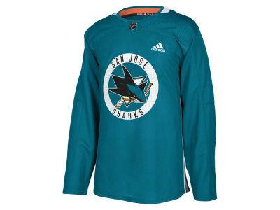 San Jose Sharks adidas NHL Men's Authentic Pro Practice Jersey