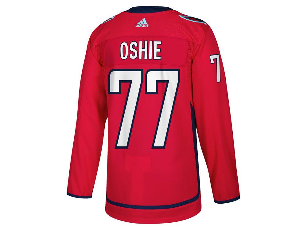 f60fd707eb1 Washington Capitals T. J. Oshie adidas NHL Men s adizero Authentic Pro  Player Jersey