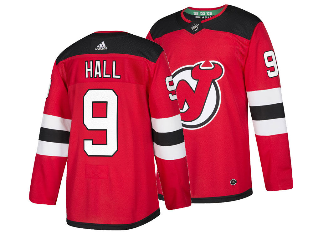 New Jersey Devils Taylor Hall adidas NHL Men s adizero Authentic Pro Player  Jersey  f95b2770b