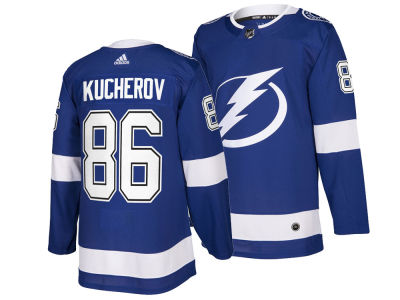 Tampa Bay Lightning Nikita Kucherov adidas NHL Men's Authentic Player Jersey