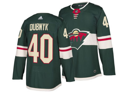 Minnesota Wild Devan Dubnyk adidas NHL Men's Authentic Player Jersey