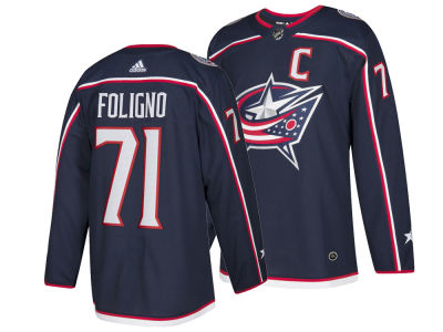 Columbus Blue Jackets Nick Foligno adidas NHL Men's Authentic Player Jersey