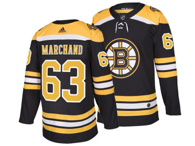 Boston Bruins Brad Marchand adidas NHL Men's Authentic Player Jersey