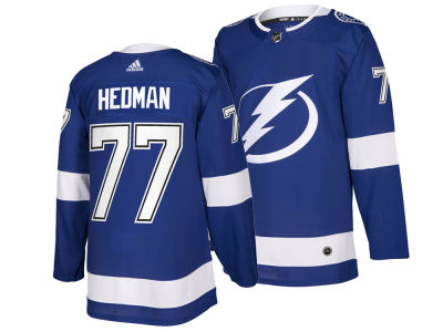 Tampa Bay Lightning Victor Hedman adidas NHL Men's Authentic Player Jersey