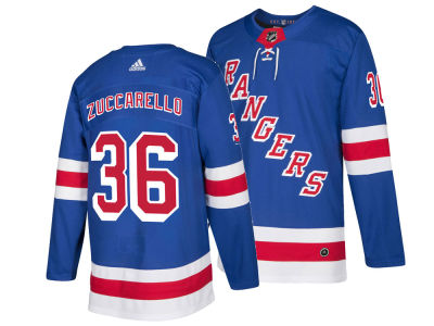 New York Rangers Mats Zuccarello adidas NHL Men's Authentic Player Jersey