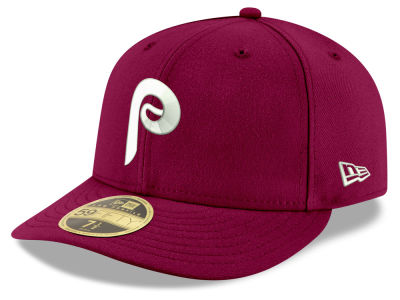 Philadelphia Phillies New Era MLB Cooperstown Low Profile 59FIFTY Cap