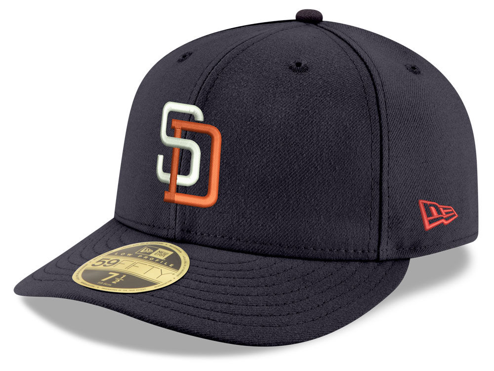 c35bf8decdc San Diego Padres New Era MLB Cooperstown Low Profile 59FIFTY Cap ...