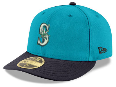 Seattle Mariners New Era MLB Cooperstown Low Crown 59FIFTY Cap