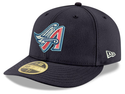 Los Angeles Angels New Era MLB Cooperstown Low Profile 59FIFTY Cap