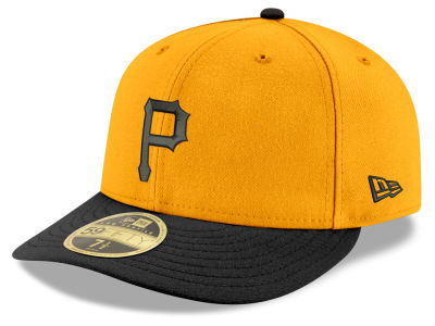 Pittsburgh Pirates New Era MLB Cooperstown Low Crown 59FIFTY Cap