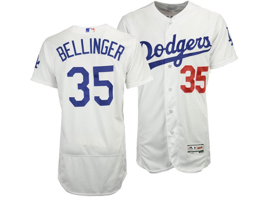 Los Angeles Dodgers Cody Bellinger Majestic MLB Men s Flexbase On-Field  Player Jersey  6fd373741cb