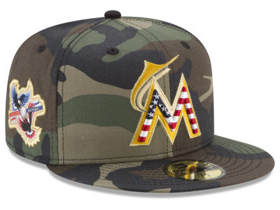 Miami Marlins New Era MLB Classic Veteran 59FIFTY Cap