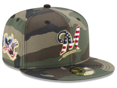 Milwaukee Brewers New Era MLB Classic Veteran 59FIFTY Cap