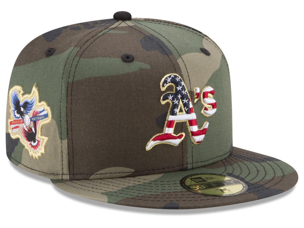 28fed5de744 Oakland Athletics New Era MLB Classic Veteran 59FIFTY Cap