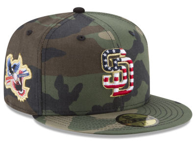 San Diego Padres New Era MLB Classic Veteran 59FIFTY Cap