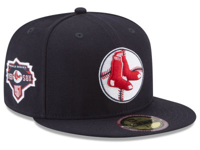 Boston Red Sox New Era MLB Ultimate Patch Collection World Series 59FIFTY Cap