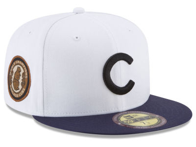 Chicago Cubs New Era MLB Ultimate Patch Collection World Series 59FIFTY Cap