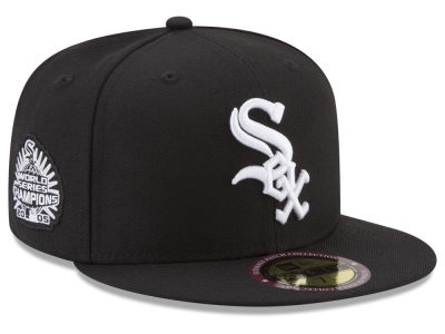 Chicago White Sox New Era MLB Ultimate Patch Collection World Series 59FIFTY Cap