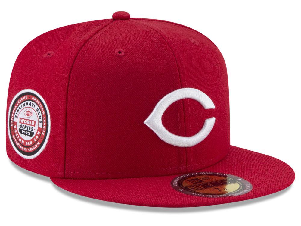 af1964de368 Cincinnati Reds New Era MLB Ultimate Patch Collection World Series 59FIFTY  Cap