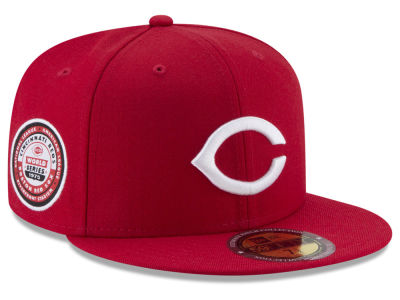 Cincinnati Reds New Era MLB Ultimate Patch Collection World Series 59FIFTY Cap