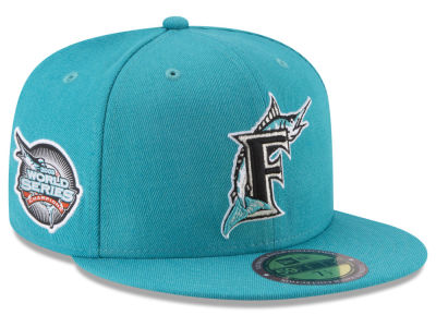Florida Marlins New Era MLB Ultimate Patch Collection World Series 59FIFTY Cap