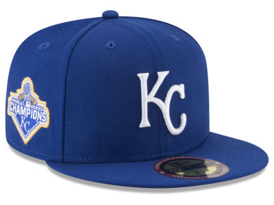 Kansas City Royals New Era MLB Ultimate Patch Collection World Series 59FIFTY Cap