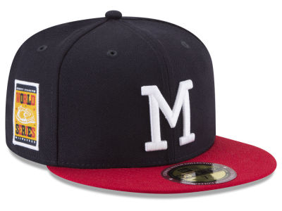 Milwaukee Braves New Era MLB Ultimate Patch Collection World Series 59FIFTY Cap