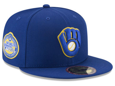 Milwaukee Brewers New Era MLB Ultimate Patch Collection World Series 59FIFTY Cap