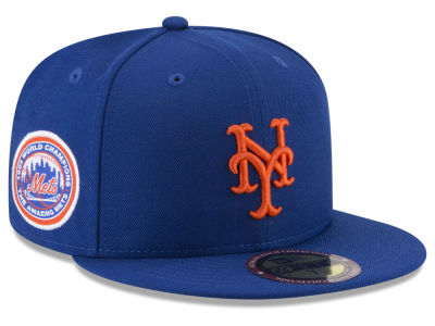 New York Mets New Era MLB Ultimate Patch Collection World Series 59FIFTY Cap