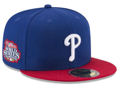 Philadelphia Phillies New Era MLB Ultimate Patch Collection World Series 59FIFTY Cap