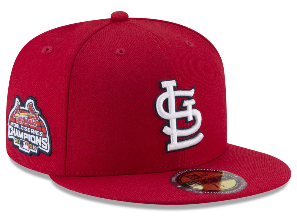 St. Louis Cardinals New Era MLB Ultimate Patch Collection World Series 59FIFTY  Cap  debddc52d167