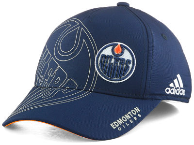 Edmonton Oilers adidas NHL Youth Second Season Cap