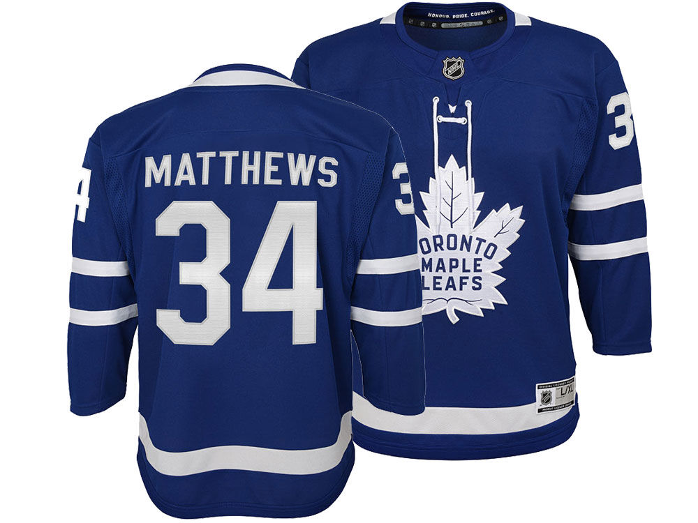Toronto Maple Leafs Auston Matthews NHL Branded NHL Youth Premier Player  Jersey  0711c1bfd