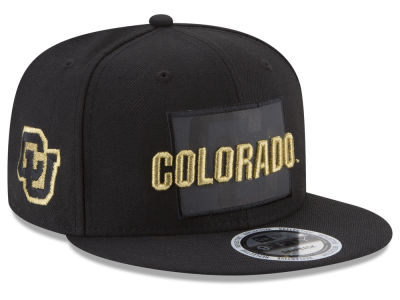 Colorado Buffaloes New Era NCAA State Flective Snapback Cap
