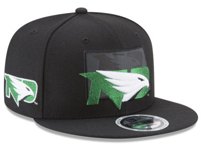 North Dakota New Era NCAA State Flective Snapback Cap