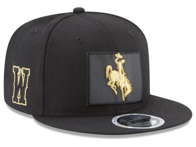 Wyoming Cowboys New Era NCAA State Flective Snapback Cap