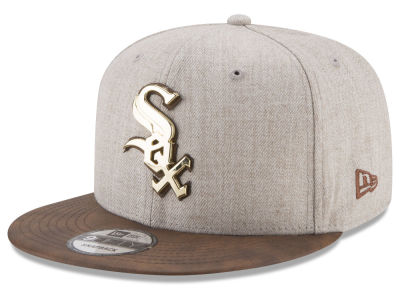 Chicago White Sox New Era MLB Oatmeal O'Gold 9FIFTY Snapback Cap