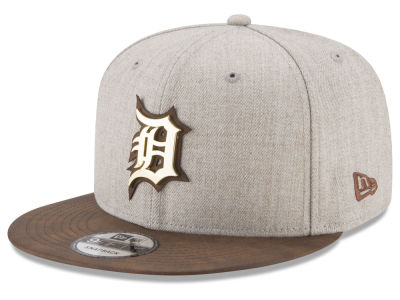 Detroit Tigers New Era MLB Oatmeal O'Gold 9FIFTY Snapback Cap
