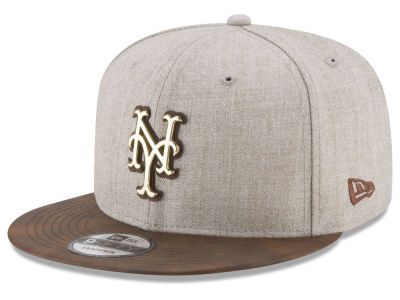 New York Mets New Era MLB Oatmeal O'Gold 9FIFTY Snapback Cap